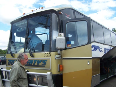 Greyhousn passenger bus July 2007