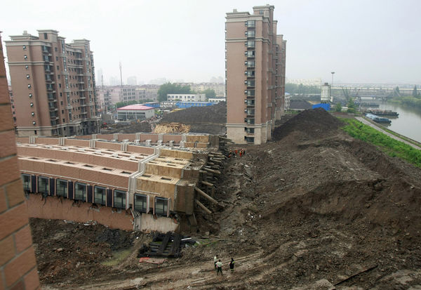 Flats in China about mid-2009